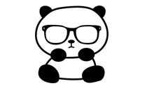 hipster_panda